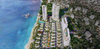 Dự án Aria Vũng Tàu Hotel & Resort tọa lạc trên cung đường 3/2 - một trong những cung đường resort đẹp nhất Vũng Tàu. Ảnh phối cảnh: Danh Khôi. - WikiLand