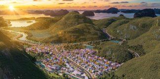 Phối cảnh tổng thể của Sun Onsen Village Limited Edition - WikiLand