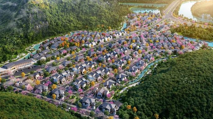 Sun Onsen Village - Limited Edition được kiến tạo nằm trong tổng thể thị trấn nghỉ dưỡng phong cách Nhật Bản. Ảnh: - WikiLand  Sun Group ra mắt phân khu biệt thự khoáng nóng Yoko Villas anh 1 yoko villas thuoc sun on 2361 8115 1615967622