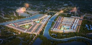 Phối cảnh dự án TNR Grand Palace River Park. - WikiLand