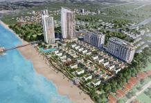 Dự án Aria Vũng Tàu Hotel & Resort hướng trực diện ra biển. Ảnh phối cảnh: Tập đoàn Danh Khôi. - WikiLand