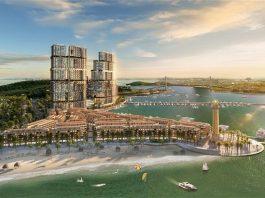 Phối cảnh tổ hợp bất động sản giải trí Sun Marina kề bên Vịnh Du thuyền. - WikiLand