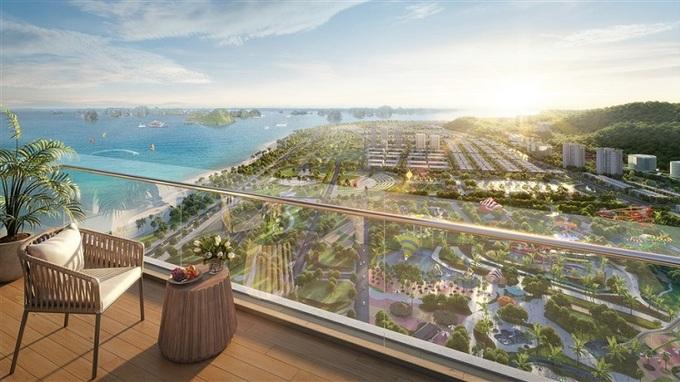 View đại dương từ ban công Sun Marina Town. - WikiLand  1.000 căn hộ Sun Marina Town được giao dịch trong một tuần image003 1731 1623053582