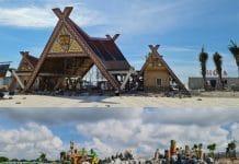 Một số hạng mục giải trí tại công viên Tropicana Park đang dần hình thành. - WikiLand