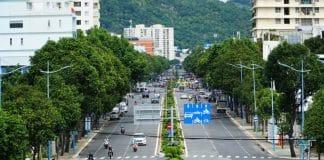 Một góc thành phố Vũng Tàu ngày nới lỏng giãn cách xã hội. Ảnh: Đăng Khoa - WikiLand