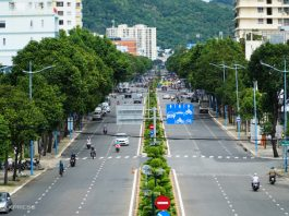 Một góc thành phố Vũng Tàu. Ảnh: Trường Hà - WikiLand